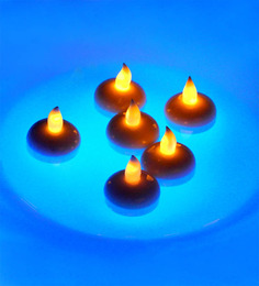Tu Casa Water Touch Floating LED Candle Set Of 6
