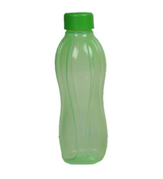 Tupperware Green Round Plastic 1000 ML Bottle - Set of 4