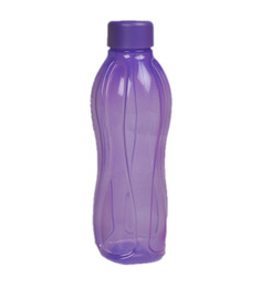 Tupperware Purple Round Plastic 1000 ML Bottle - Set of 4