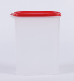 Tupperware Smart Saver White & Red Plastic 2300 ml Airtight Container - Set of 2