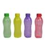 Tupperware Multicolour 1L Bottle - Set of 4