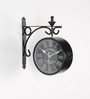 Tu Casa Black 6 inches Victorian Station Clock