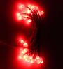 Tu Casa Red Downward Cap Bulb String Light