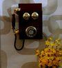 Tu Casa Dark Brown Wall Hanging Phone