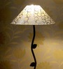 Tu Casa Leaf Design Metal Floor Lamp