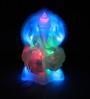 Tu Casa Multicolour Plastic Ganesha LED Murti