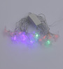 Tu Casa Multicolour Crystal Led Swastik String Light