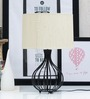 Tu Casa Beige Poly Cotton Circular Lamp Shade