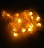 Tu Casa Yellow Downward Flower String Light