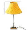 Tu Casa Yellow Poly Cotton Pleated Lamp Shade