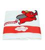 Imagica Tubby Applique White Bath Towel