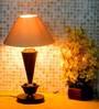 Tu Casa White Conical Shade Table Lamp