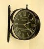 Tu Casa Black 14 inch Victorian Station Clock