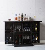 Reno Bar Cabinet in Espresso Walnut Finish by Woodsworth