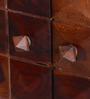 Reno Bar Cabinet in Honey Oak Finish by Woodsworth