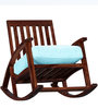 Tukwila Rocking Chair in Warm Walnut Finish by Woodsworth