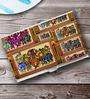 Tungs10 Folk Expression Dancers Stainless Steel Card Holder