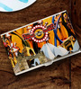 Tungs10 Vintage Rally Delhi to London Fusion Stainless Steel Card Holder