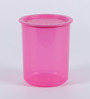 Tupperware One Touch Pink Plastic 1.25L Canister - set of 2