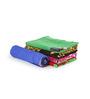 Turkish Bath Multicolour Cotton 24 x 48 Inch Towel - Set of 5
