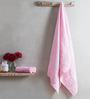 Turkish Bath Pink Cotton 28 x 60 Inch Towel - Set of 3