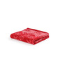 Turkish Bath Red Cotton 30 X 58 Inch Towel - Set of 3