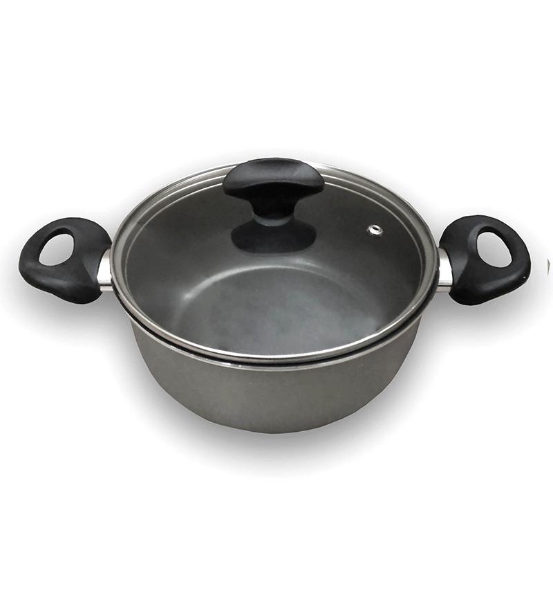 Tvs Silk Coating 2 Handle Pan By Tvs Online Sauce