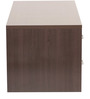 Eichi Entertainment Unit in Chocolate Beech Finish by Mintwud