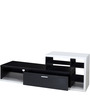 Eijirou Entertainment Unit in Solid Black and White Finish by Mintwud