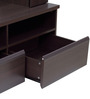 Eikichi Entertainment Wall Unit in Chocolate Beech Finish by Mintwud