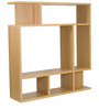 Eijiro Entertainment Wall Unit in Oak Finish by Mintwud