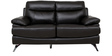 Two Seater Half Leather Sofa in Dark Brown Colour by Star India