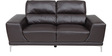 Two Seater Sofa in Black Colour by Royal Oak