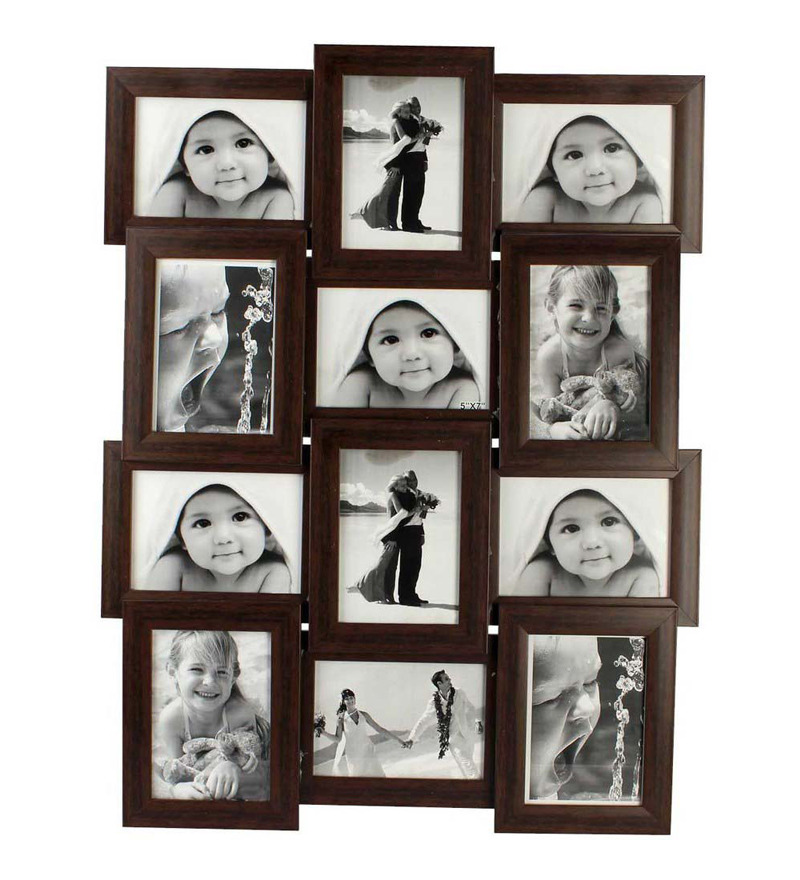 Buy Snap Galaxy Brown Synthetic Wood 4 X 6 Inch Photo