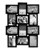 Snap Galaxy Black Synthetic Wood 4 x 6 Inch Photo Frame Collage