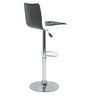 Twin Bar Chair in Black & White by The Furniture Store