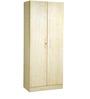 Two Door Wardrobe in Maple Matt Finish by Debono