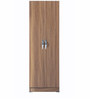 Two Door Wardrobe in Walnut Colour by Pindia