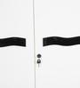 Two Door White Wardrobe by Parin