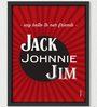 Two Gud Jack Johnnie Jim Wall Art