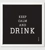 Two Gud Keep Calm And Drink Wall Art