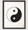 Two Gud Yin And Yang Wall Art