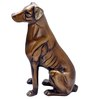 Bayside Vintage Dog Showpiece in Gold by Bohemiana