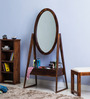 U Collection Sheesham Wood Dressing Table with Mirror in Provincial Teak Finish by Woodsworth