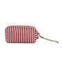 Uberlyfe PU Leather & Polyester Red & White Multipurpose Pouch