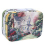 UberLyfe Vintage Style Old World Charm Multicolour Pu Leatherette Jewellery Box