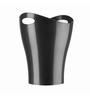 Umbra Black Plastic Dustbin