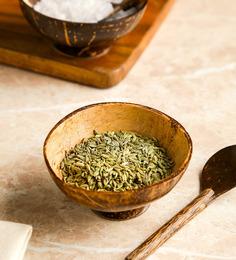 Unravel India Shell Desert Bowl & Spoon - Set of 6