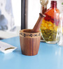 Unravel India Wooden Mortar & Pestle