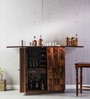 Reno Large Bar Cabinet in Provincial Teak Finish by Woodsworth